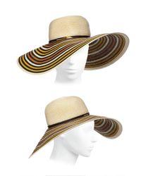 Eugenia Kim - Natural Bunny Wide-Brim Toyo Paper Hat - Lyst