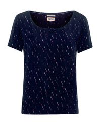 Tommy Hilfiger | Blue Benay Top | Lyst