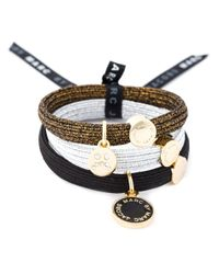 Marc By Marc Jacobs   Multicolor Logo Pendant Hairbands   Lyst