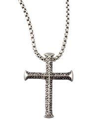 Stephen Webster | Metallic Cross Necklace for Men | Lyst