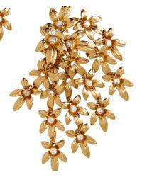 H&M - Metallic Long Clip Earrings - Lyst