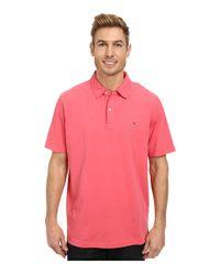 Vineyard Vines | Pink Garment Dye Jersey Polo for Men | Lyst