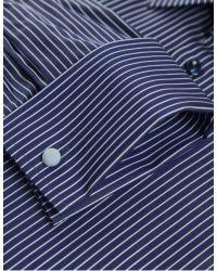 Eton of Sweden | Blue Bold Stripe Shirt for Men | Lyst
