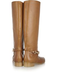 Mulberry - Brown Dorset Leather Riding Boots - Lyst