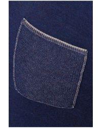BOSS Orange - Blue Cotton Sweater 'kobbel' for Men - Lyst