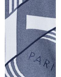 KENZO - Logo Statement Sweatshirt - Blue for Men - Lyst