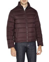 Kenneth Cole | Red Down Jacket for Men | Lyst