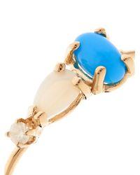 Loren Stewart | Metallic Diamond, Opal, Turquoise & Gold Ring | Lyst