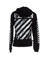 Off-White c/o Virgil Abloh - Black Sweatshirt for Men - Lyst