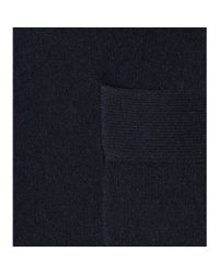 Jardin Des Orangers - Blue Wool And Cashmere Cardigan - Lyst
