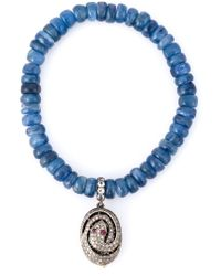 Loree Rodkin | Blue Embellished Bracelet | Lyst