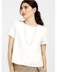 BaubleBar - Metallic Oval Link Necklace - Lyst