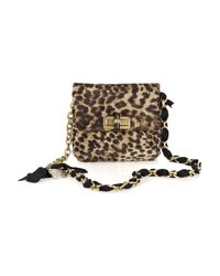 Lanvin | Multicolor Mini Pop Leopard-print Bag | Lyst