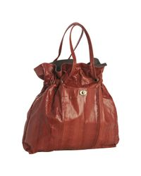 Beirn | Red Cherry Snakeskin Cc Drawstring Tote | Lyst