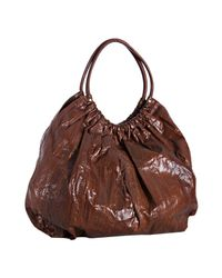 Beirn | Brown Chocolate Snakeskin Ruthie Shoulder Bag | Lyst