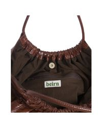 Beirn - Brown Chocolate Snakeskin Ruthie Shoulder Bag - Lyst