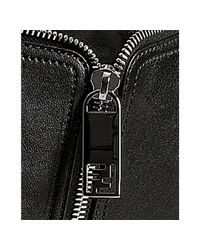 Fendi   Black City Leather Hobo Bag   Lyst