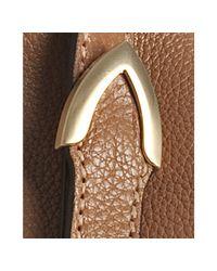 Fendi - Brown Honey Leather Selleria Medium Shoulder Bag - Lyst