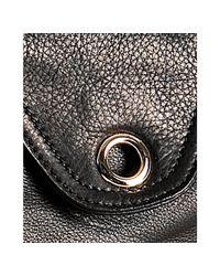 hayden-harnett - Black Leather Zephyr Hobo - Lyst