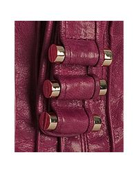 Treesje | Red Cherry Pintuck Leather Parker Hobo | Lyst