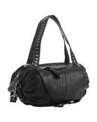 Tulah Ray - Black Pebble Leather Clemente Medium Shopper - Lyst