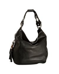 Gucci - Black Techno Horsebit Large Hobo Bag - Lyst