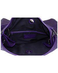 Alexander McQueen - Purple Skull Tote - Lyst