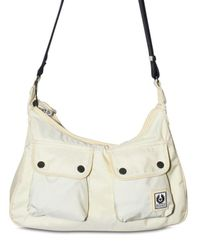 Belstaff | White Nylon Amber Shoulder Bag | Lyst