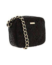 kate spade new york - Black Garden Grove Lauralee Mini Leather Bag - Lyst