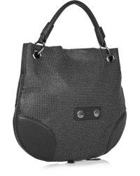 Alexander McQueen | Black Faithful Medium Hobo Bag | Lyst