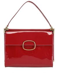 Roger Vivier | Red Miss Viv Medium Leather Shoulder Bag | Lyst