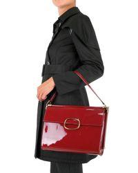 Roger Vivier - Red Miss Viv Medium Leather Shoulder Bag - Lyst