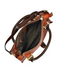 Chloé   Brown Marcie Leather Bag   Lyst