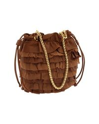 Elie Tahari | Brown Allison Drawstring | Lyst