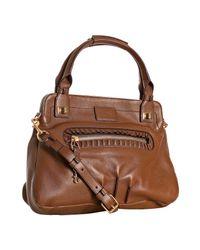Chloé | Brown Sheepskin Margaret Small Bag | Lyst