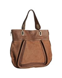 Chloé | Brown Paraty Large Leather Tote | Lyst