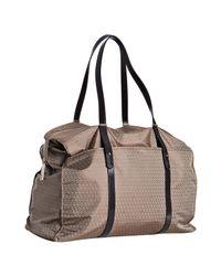 Fendi | Natural Beige Zucchino Nylon Travel Bag | Lyst