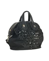 Givenchy | Black Poly Jeweled Nightingale Medium Bag | Lyst