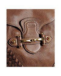 Gucci - Light Brown Leather New Pelham Large Shoulder Bag - Lyst