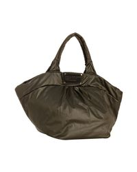 Marc By Marc Jacobs | Brown Newsprint Nylon Q Mabel Tote Bag | Lyst