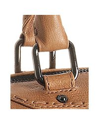 Rebecca Minkoff | Natural Camel Leather Love Letter Mab Satchel | Lyst