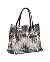 Valentino | Black 'funky Dragon Camouflage Shopper | Lyst