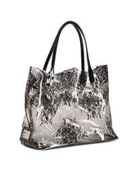 Valentino - Black 'funky Dragon Camouflage Shopper - Lyst
