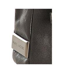 Marc Jacobs | Gray Dark Grey Leather Rolls Car Applique Clutch | Lyst
