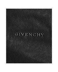 Givenchy | Black Hemp Lambskin Pandora Shoulder Bag | Lyst