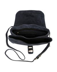 Tila March | Blue Manon Suede Shoulder Bag | Lyst