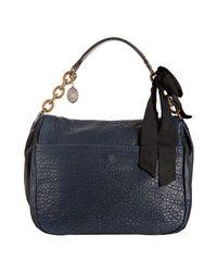 Lanvin - Blue Clic Clac Bag - Lyst