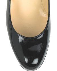 Christian Louboutin - Black Simple Patent Leather Pumps - Lyst