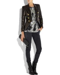 Emilio Pucci - Black Studded Leather Ankle Boots - Lyst