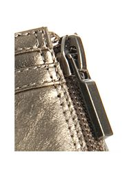 Boutique 9 | Metallic Gold Caged Leather Grayson Platform Sandals | Lyst